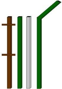 изготовление металлические столбы в Краснокамске