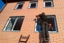 Монтаж решеток в Краснокамске